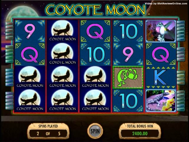 Coyote Moon tragamonedas gratis online