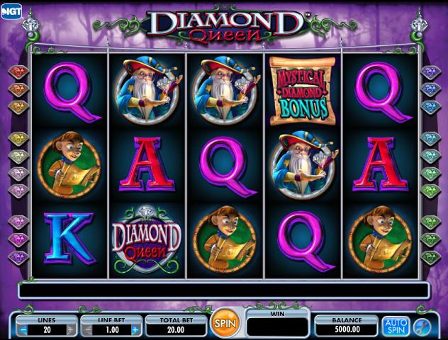 Diamond Queen tragamonedas gratis online