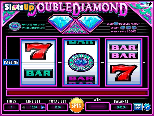 Double Diamond tragamonedas gratis online