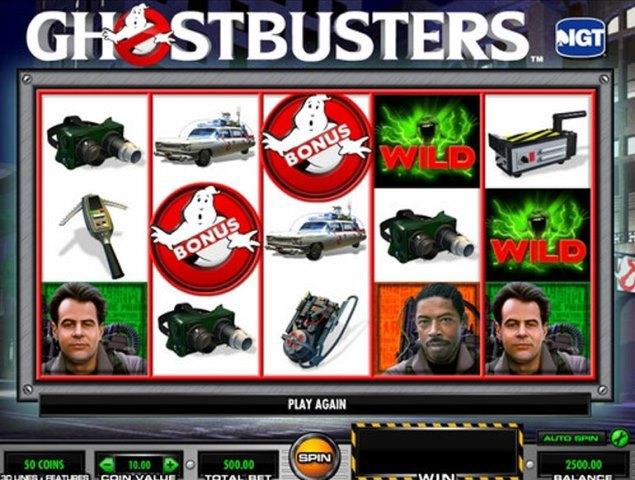 Ghostbusters tragamonedas gratis online