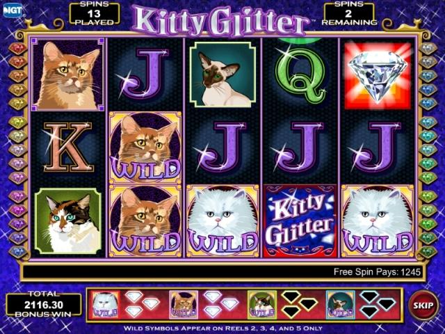 Kitty Glitter tragamonedas gratis online