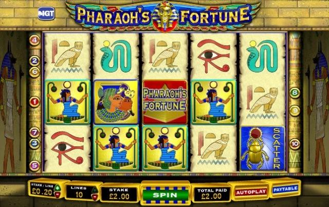 Pharaohs Fortune tragamonedas gratis online