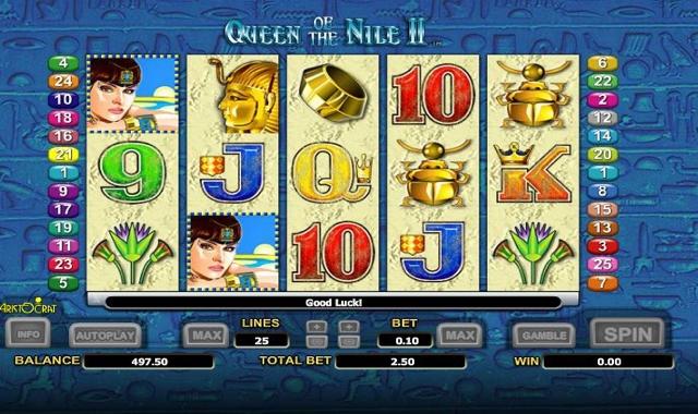 Queen Of The Nile 2 tragamonedas gratis online