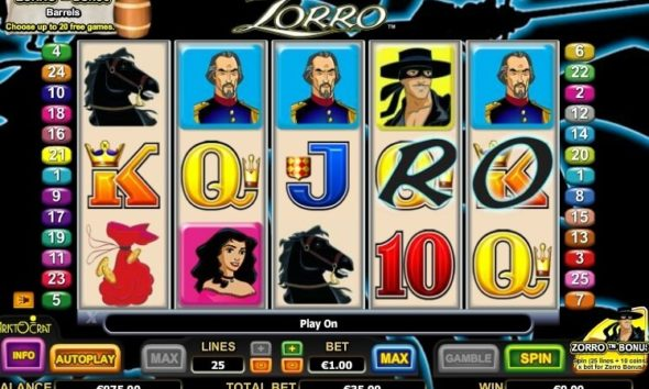 El Zorro tragamonedas gratis online